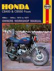 Honda CB400 & CB550 Fours (73 - 77) Haynes Manual